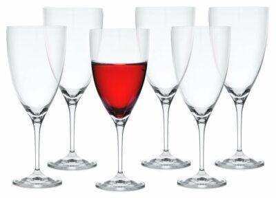 Kieliszki do czerwonego wina wody DUKA VICTORIA 6 sztuk 500 ml szkło