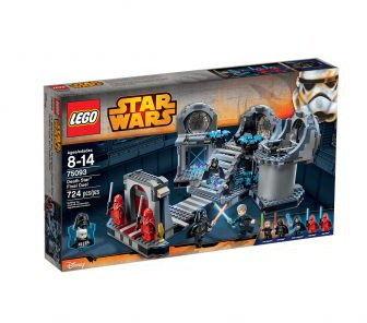 Klocki Star Wars 75291 Gwiazda Śmierci ostateczny pojedynek