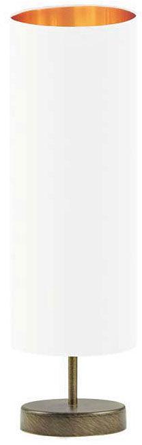 Lampa stołowa walec na złotym stelażu - EX961-Sydnel - 5 kolorów