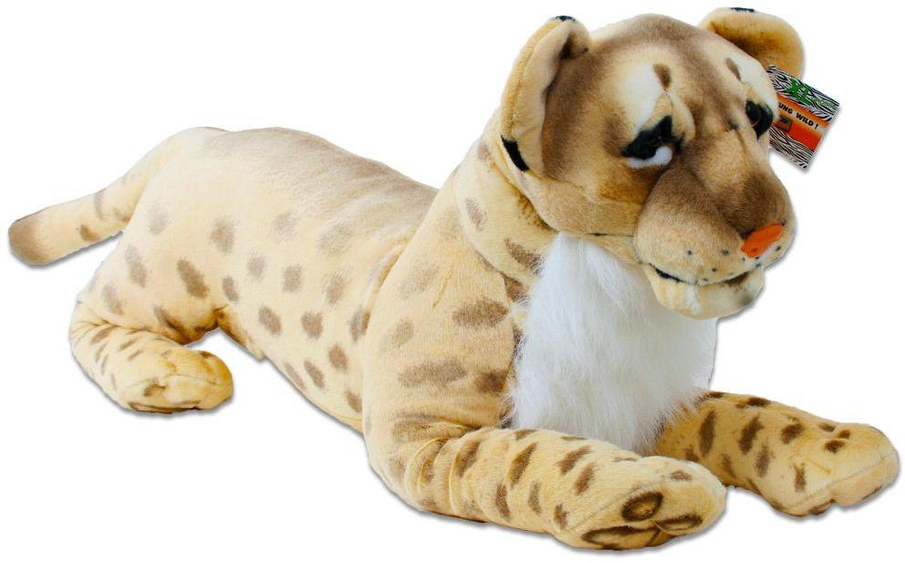Lew Löwin pluszowy lew dzikie zwierzę leżący pluszowy przytulanka dżungla step duży kot 65 do 103 cm, zwierzęta plusz:lew schodziący 18795