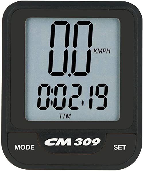 Ciclosport komputer rowerowy CM 309, czarny, jeden rozmiar