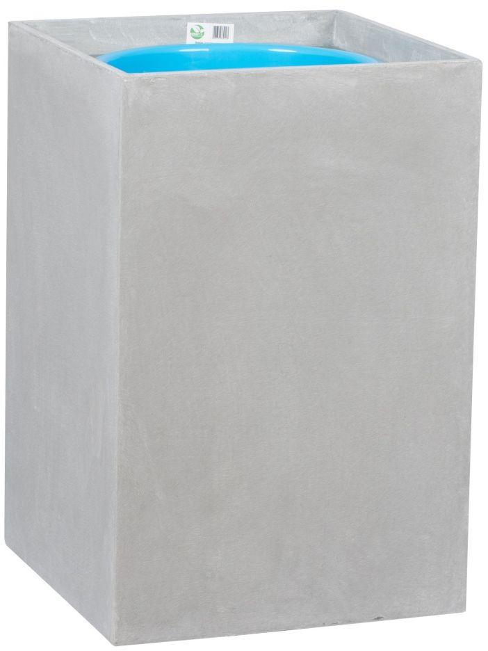 Donica z włókna szklanego D100C szary beton