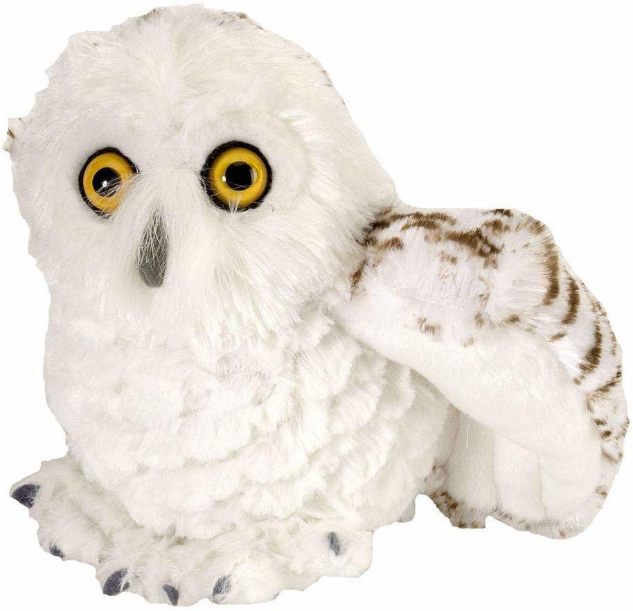 Wild Republic 10849 - Pluszowy śnieg sowa, 20 cm