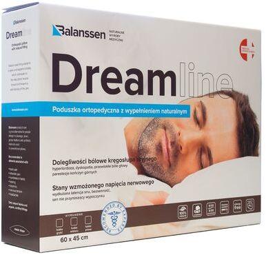 Balanssen DreamLine, poduszka ortopedyczna z wypełnieniem naturalnym