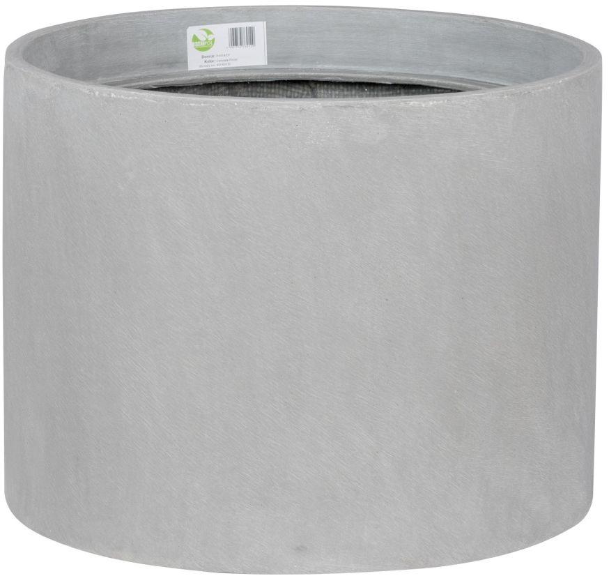 Donica z włókna szklanego D101A szary beton