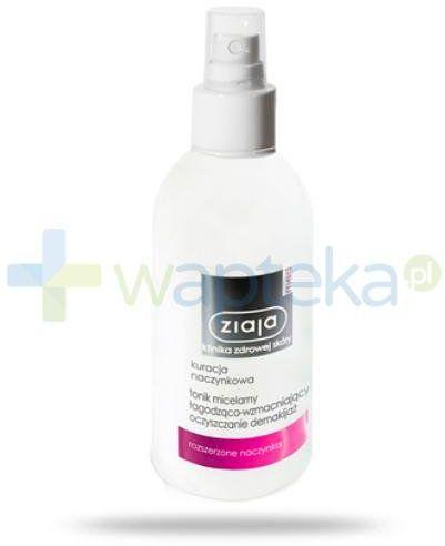 Ziaja Med Kuracja naczynkowa tonik micelarny łagodząco-wzmacniający 200 ml