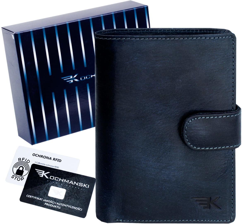 KOCHMANSKI skórzany portfel męski młodzieżowy 3063