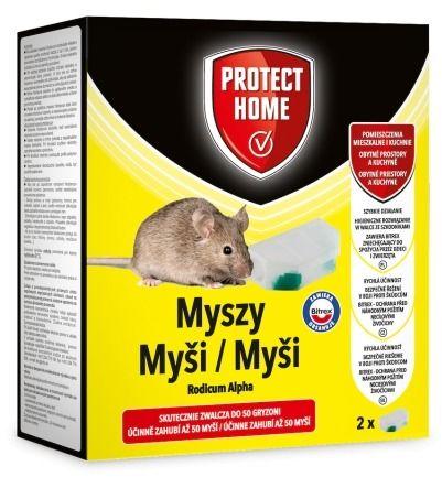 Rodicum alpha  pułapka trutka na myszy  (2 pudełka) protect home