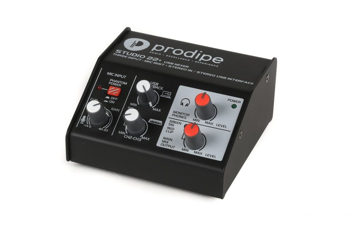 Prodipe Studio 22+ - interfejs audio