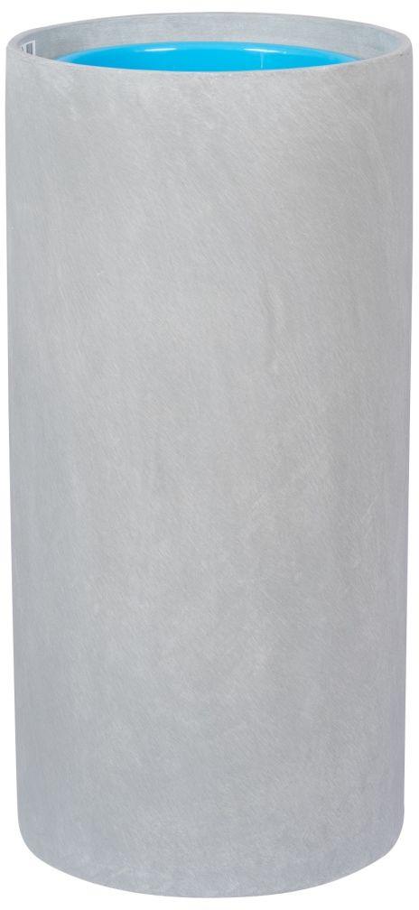 Donica z włókna szklanego D101D szary beton