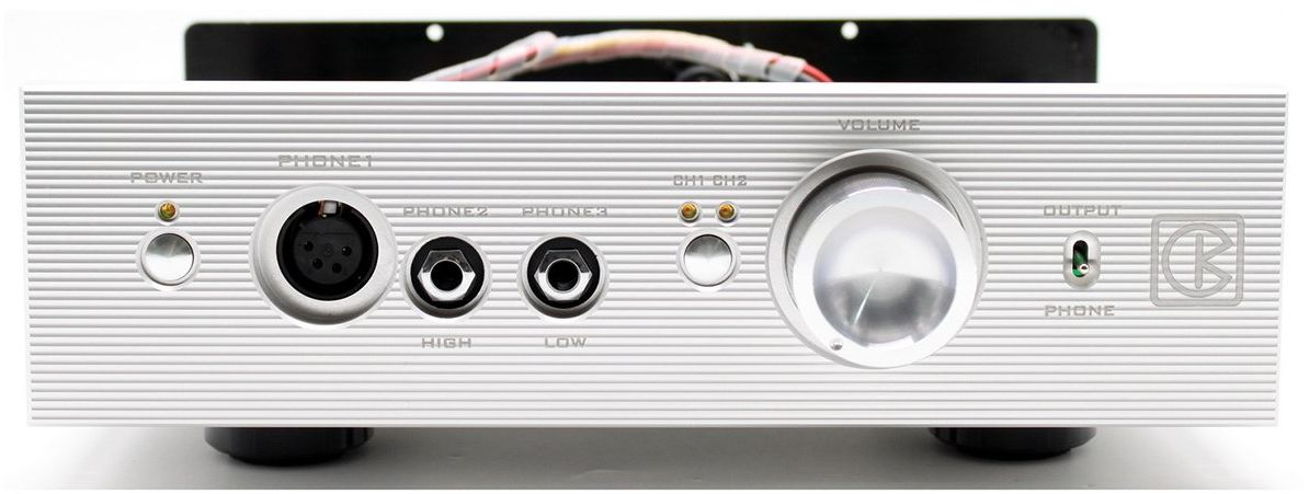 Kinki Studio VISION THR-1 - wzmacniacz słuchawkowy (srebrny)