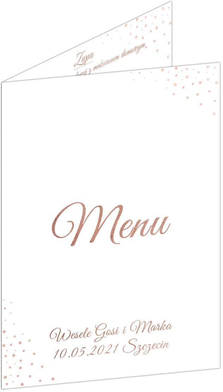 Weselne menu - 4 szt.