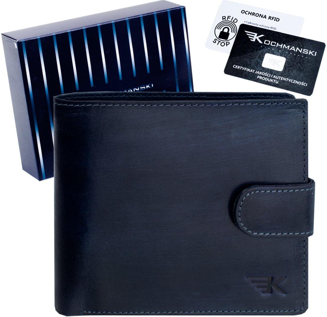 KOCHMANSKI skórzany portfel męski młodzieżowy 3071