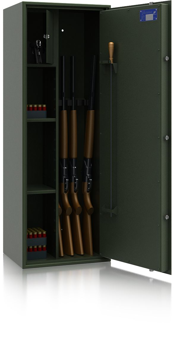 Szafa na broń SIEGEN 50070/4 ISS - zamek EL
