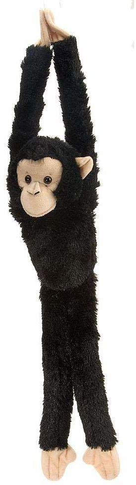 Wild Republic Europe 51 cm wisząca małpa szympans pluszowa zabawka