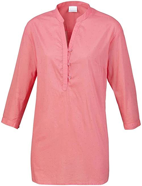 Columbia Early Tide Tunic Bluse, Mineral Pink Do, XS