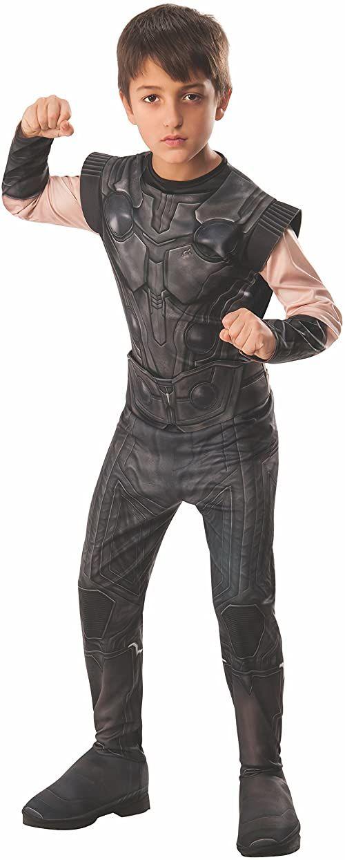 Rubie''s 641311L oficjalny kostium Avengers Infinity Wars Thor, dla dzieci, duży (wzrost 147 cm, wiek 8-10)