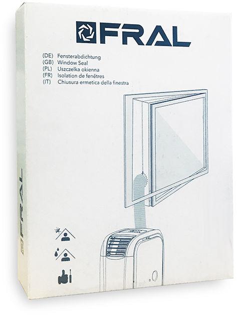 Uszczelka okienna do klimatyzatorów (4 zipy)