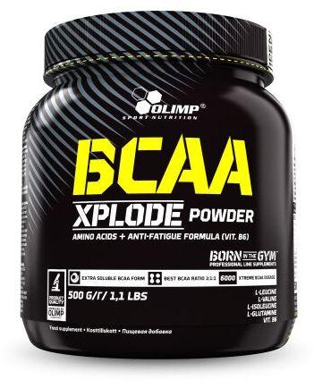 Olimp BCAA Xplode Powder, 500g - nokautująca dawka BCAA!