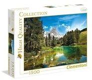 Puzzle Clementoni 1500 - HQ - Błękitne jezioro, Blue Lake