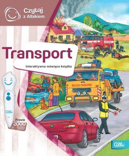 Czytaj z Albikiem Transport mówiąca książka Albi