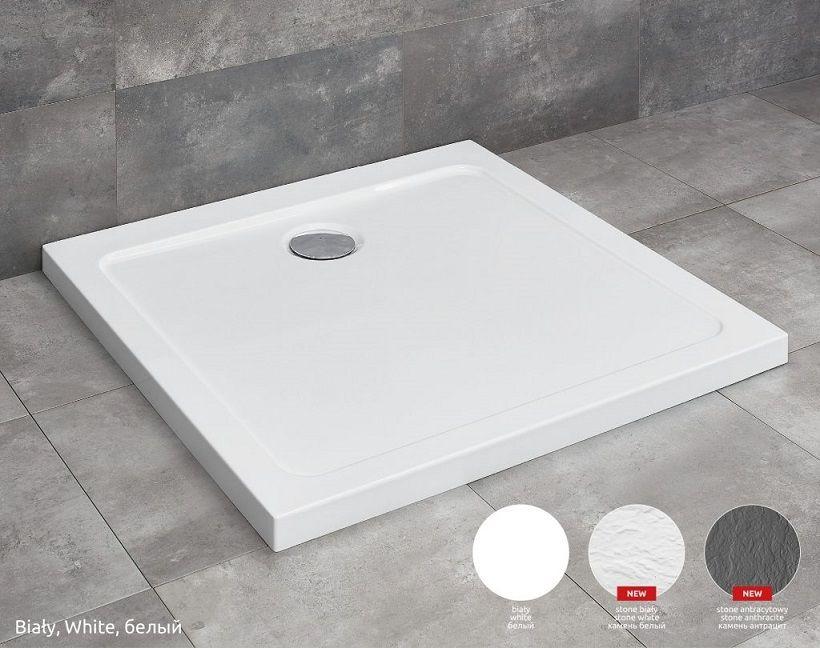 Radaway Doros D Stone brodzik 90x80x5 biały SDRD9080-01-04S