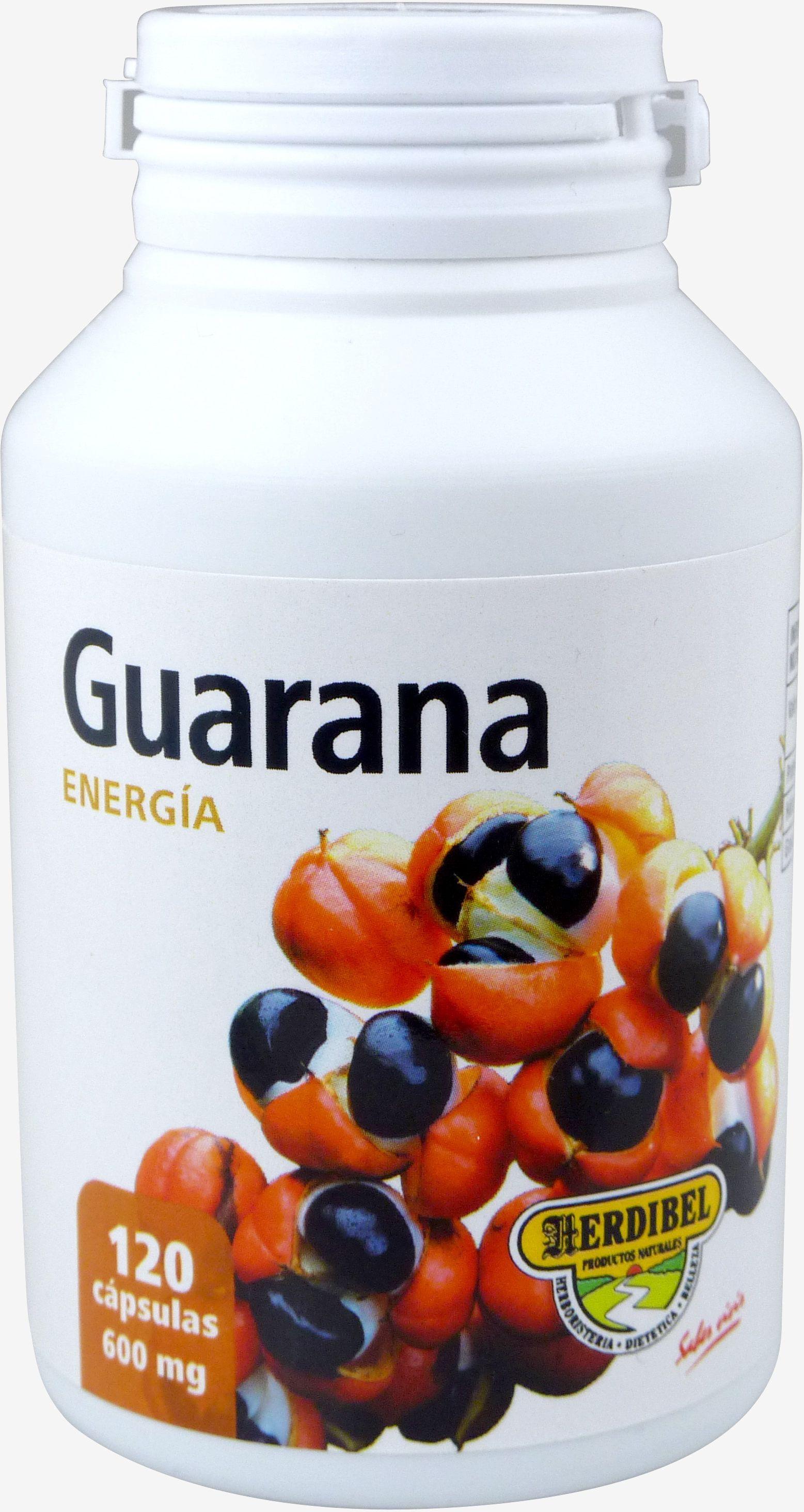 Herdibel Guarana 500 Mg 120 kaps