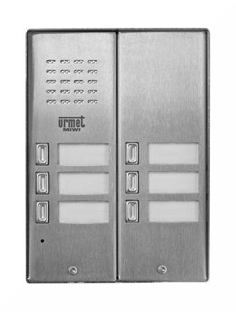 Panel wywoławczy 5025/6D MIWI-URMET