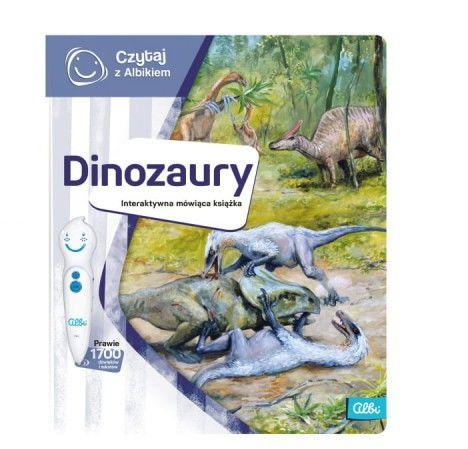 Czytaj z Albikiem Dinozaury mówiąca książka Albi