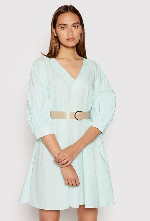 Imperial Sukienka letnia ABWSBBD Zielony Relaxed Fit