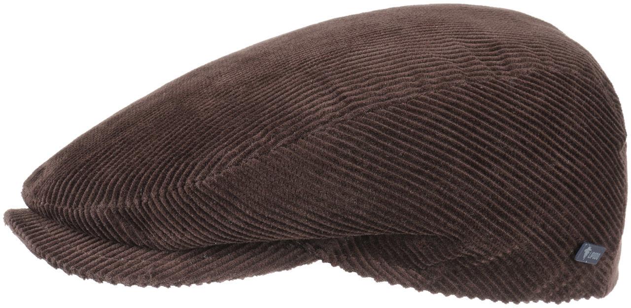 Płaski Kaszkiet Cordial by Lipodo, brązowy