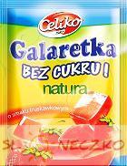 galaretka o smaku truskawkowym bez cukru 14g Celiko