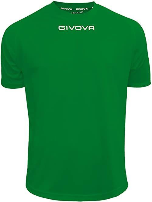 Givova - MAC01 koszulka sportowa, zielona, XS