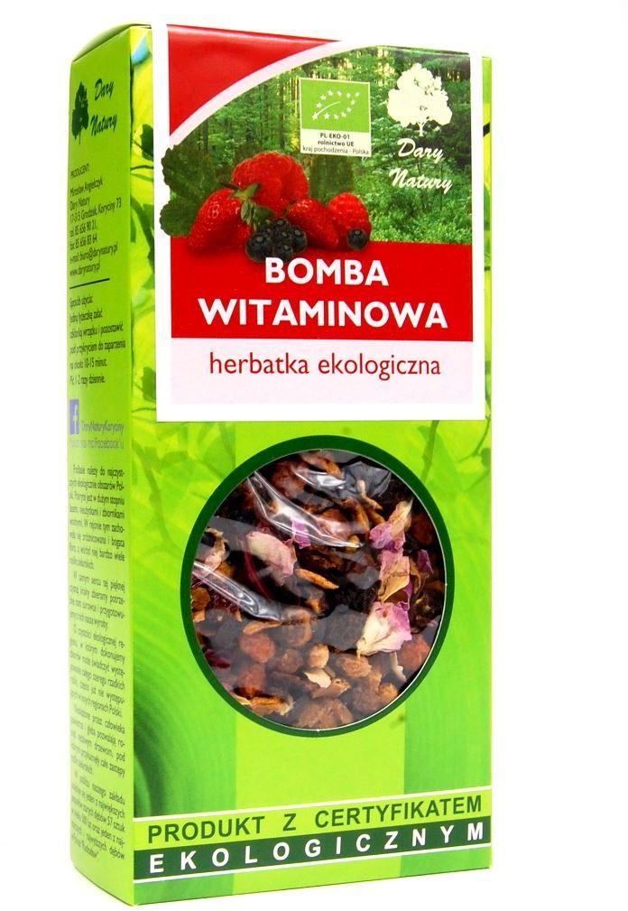 Herbatka bomba witaminowa bio 100 g - dary natury