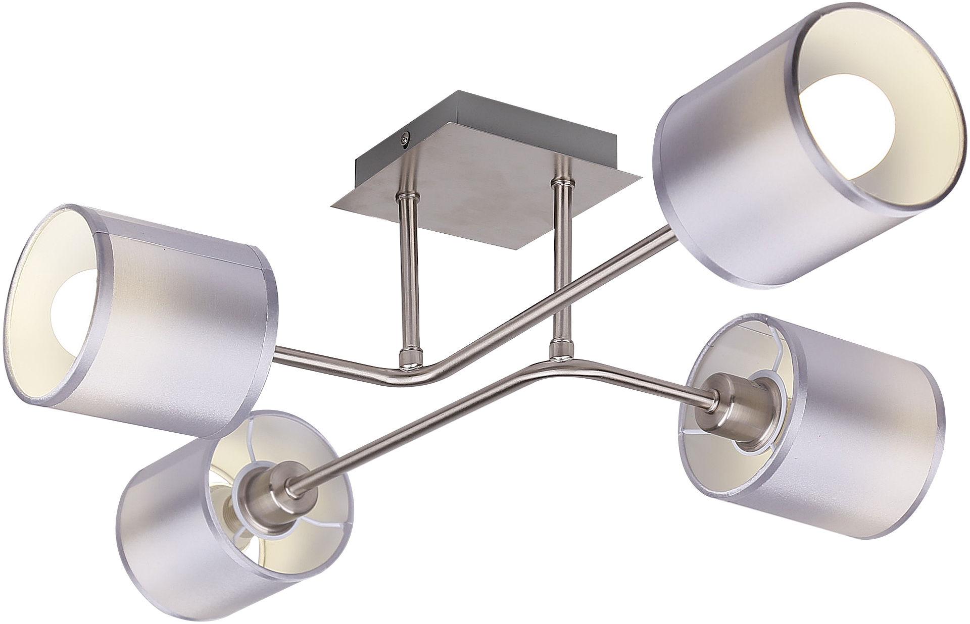 Candellux SAX 34-70685 plafon lampa sufitowa abażur 4x40W E14 69cm