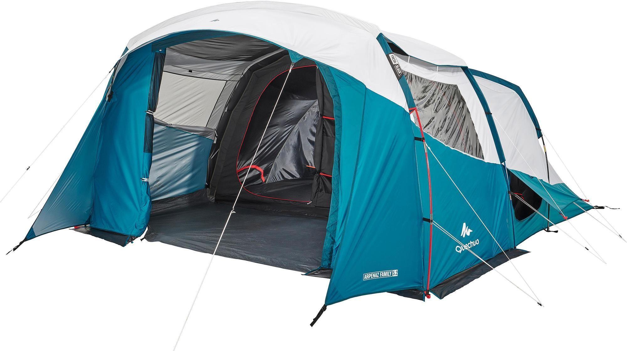 Namiot kempingowy Quechua Arpenaz 5.2 F&B -5-osobowy, -2 sypialnie