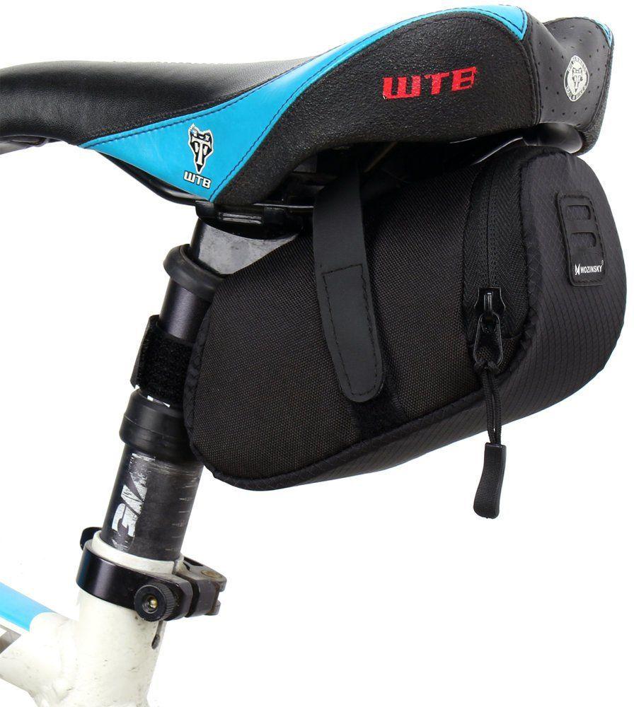 Wozinsky torba rowerowa pod siodełko 0,6 L czarny (WBB8BK black)
