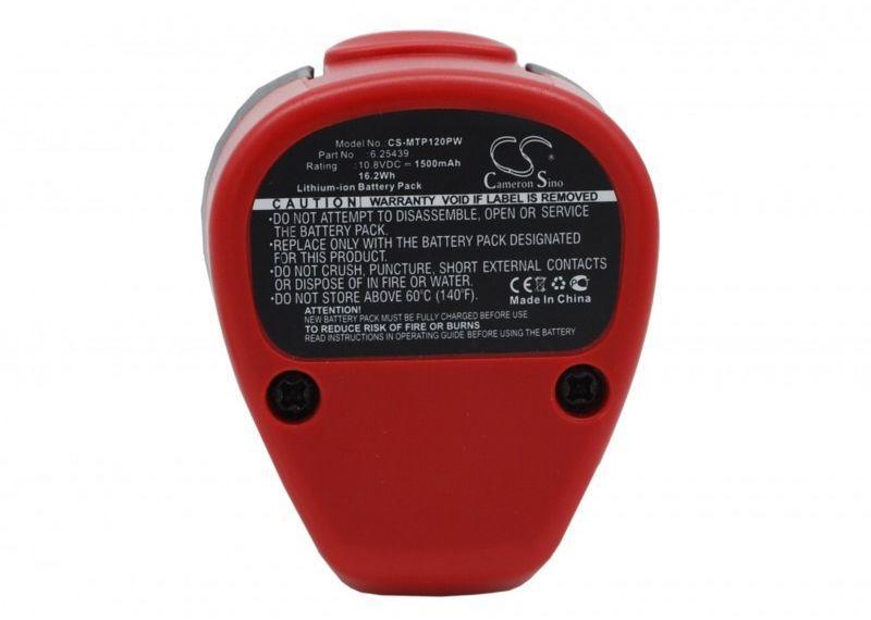 Metabo PowerImpact 12 / 6.25439 1500mAh 16.20Wh Li-Ion 10.8V (Cameron Sino)