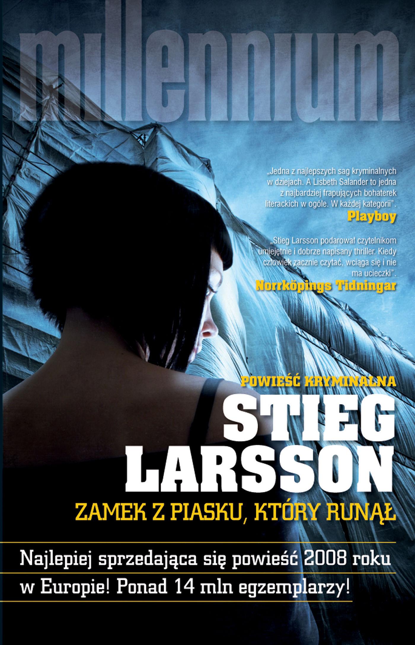 Zamek z piasku, który runął - Stieg Larsson - ebook