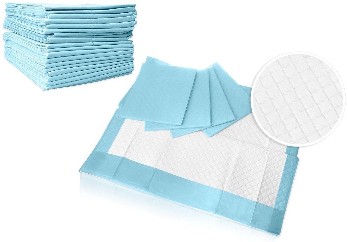 Podkład chłonny VELO 58 x 60 cm / opk. 100 szt (4x25 szt.) Podkład chłonny, higieniczny