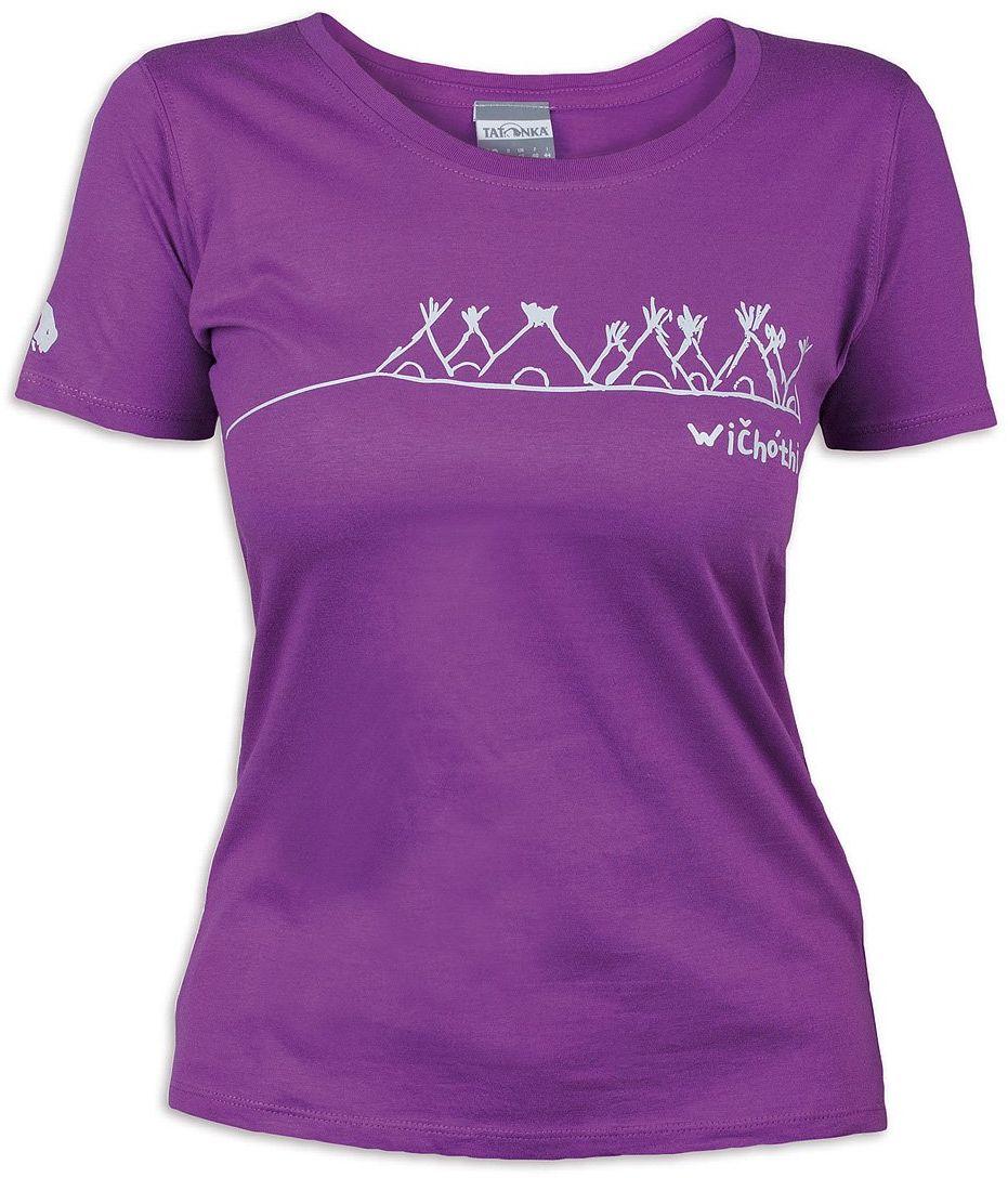 Tatonka Damski T-shirt Wichothi, byzantium, 38, C179_730