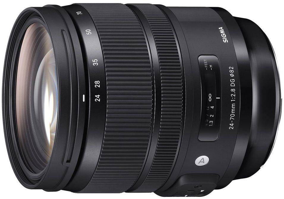 Obiektyw Sigma Art 24-70 mm f/2.8 DG OS HSM Canon + konwerter MC-11