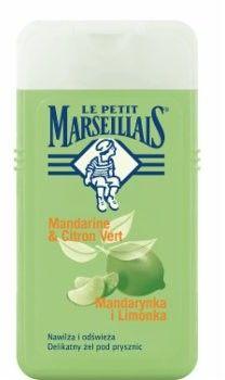 Le Petit Marseillais żel pod prysznic mandarynka i limonka 250ml