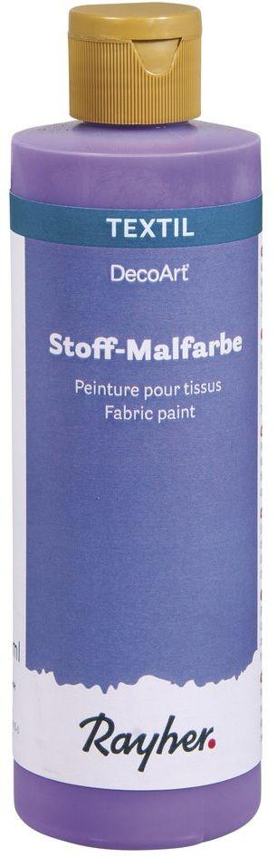 Rayher farba do malowania tkanin, fioletowa, butelka 236 ml, kolor, 5 x 5 x 16,5 cm