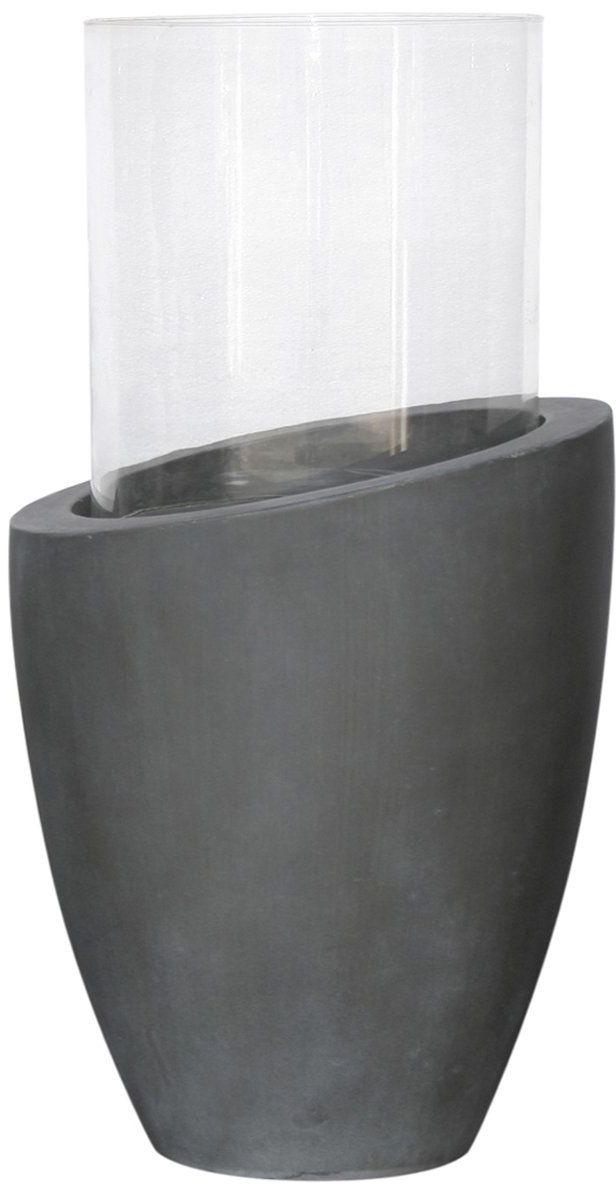 homea 5bgd085gr lampion okrągły włókno podstawowe wielokolorowe 22 x 22 x 38,5 cm