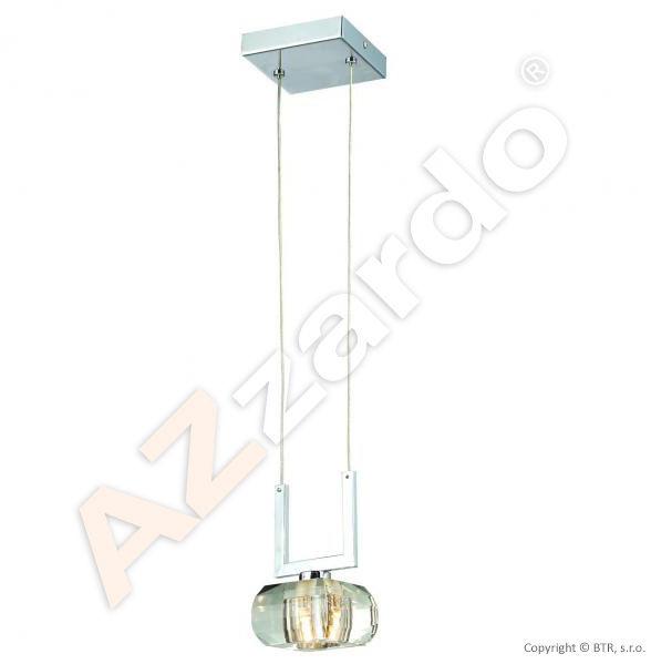 Lampa wisząca Rubic 1 AZ0490 Azzardo minimalistyczna oprawa w nowoczesnym stylu