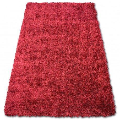 DYWAN SHAGGY LILOU czerwień 160x230 cm