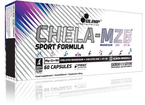 Olimp Chela-MZB Sport Formula 60 Mega Caps - Najszybsza regeneracja mięśni