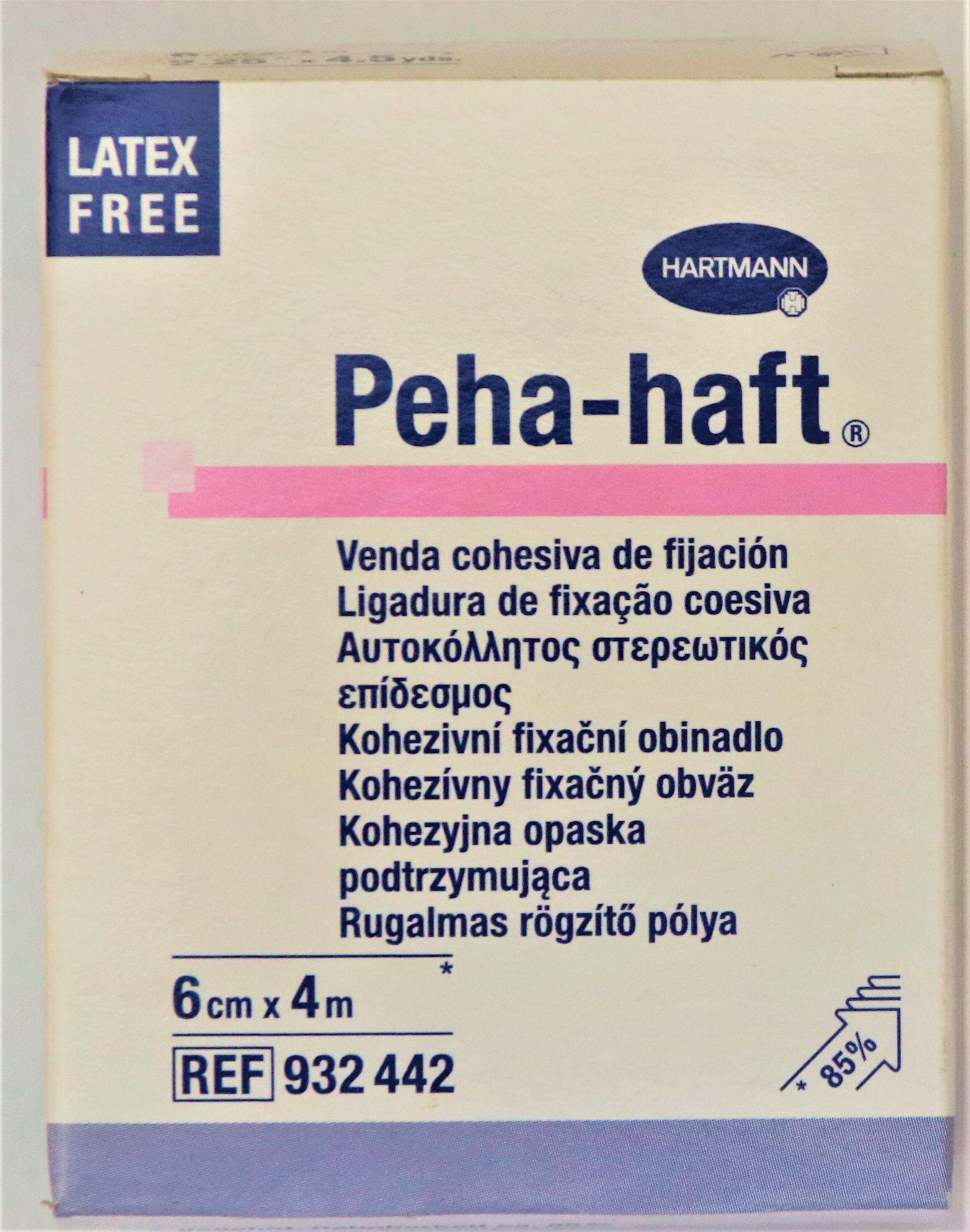 PEHA-HAFT Opaska elastyczna podtrzymująca 6cm x 4m x 1 sztuka