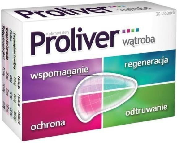 Proliver Suplement diety 30 sztuk
